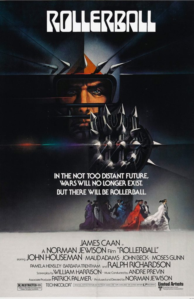 Film Poster of Rollerball 1975